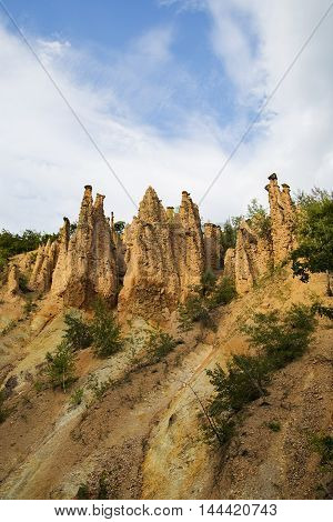 Devils Town Rock Formation In Serbia