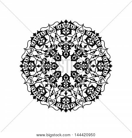 Arabic Ornament Background Oriental Ethnic Mandala Amulet Abstra