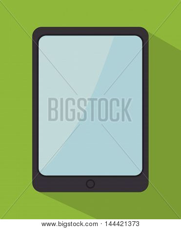 tablet technology modern icon vector illustration graphic