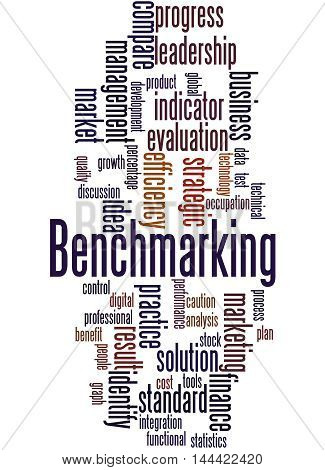 Benchmarking, Word Cloud Concept