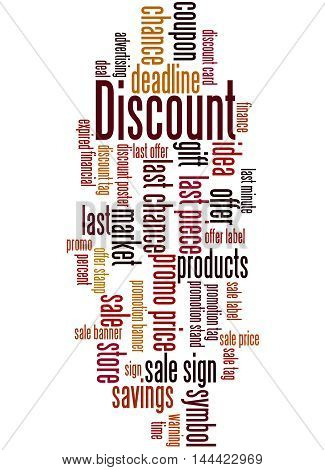 Discount, Word Cloud Concept 3