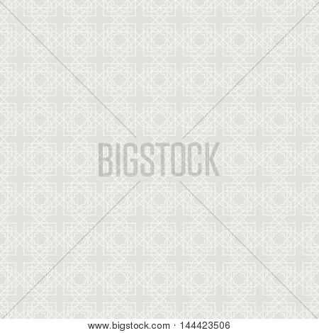 Abstract seamless geometric pattern. Arabic ornament. Islamic design. Vector illustration