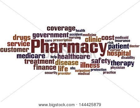Pharmacy, Word Cloud Concept 5