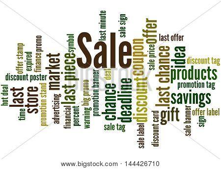 Sale, Word Cloud Concept 2