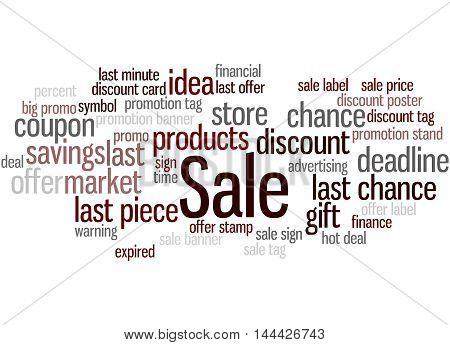 Sale, Word Cloud Concept 3