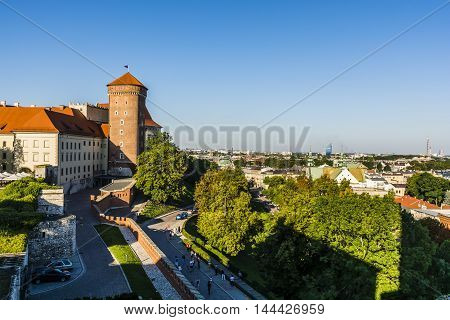 Krakow - Royal Castle And Surroundings.