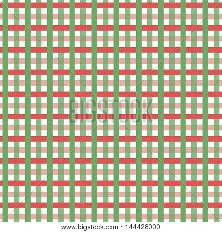 the texture seamless red and green stripes intertwined