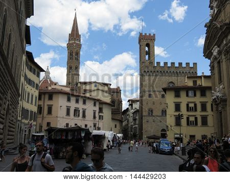 Palazzo Del Bargello In Florence