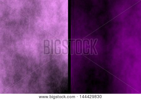 Illustration of pink and purple diagonal smoky background