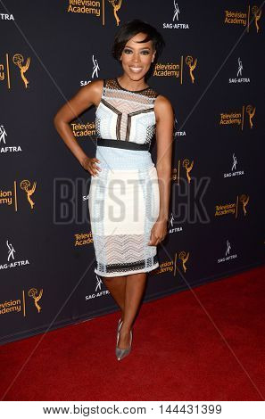 LOS ANGELES - AUG 25:  Jazmyn Simon at the 4th Annual Dynamic & Diverse Celebration at the TV Academy Saban Media Center on August 25, 2016 in North Hollywood, CA