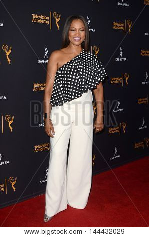 LOS ANGELES - AUG 25:  Garcelle Beauvais at the 4th Annual Dynamic & Diverse Celebration at the TV Academy Saban Media Center on August 25, 2016 in North Hollywood, CA