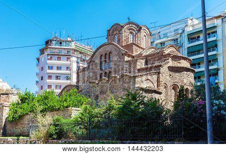 Church Of Agios Panteleimon Thessaloniki