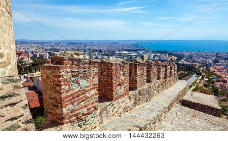 City View From Trigonion Tower, Thessaloniki