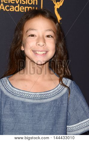 LOS ANGELES - AUG 25:  Aubrey Anderson-Emmons at the 4th Annual Dynamic & Diverse Celebration at the TV Academy Saban Media Center on August 25, 2016 in North Hollywood, CA