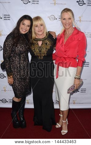 LOS ANGELES - AUG 26:  Kamala Lopez, Patricia Arquette, Nicolette Sheridan at the