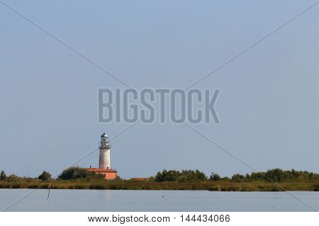 Lighthouse From Po River Lagoon