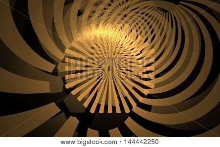yellow lines spiral fractal background back drop image