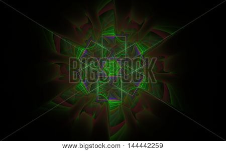 star pattern fractal background back drop image
