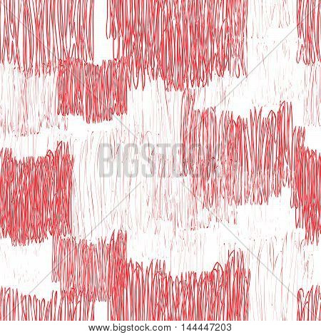 Abstract Geometric Seamless Pattern. Color Pencil Drawing Line Texture Stylish Abstract Ornamental