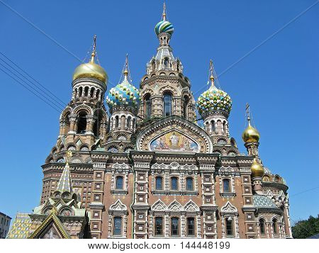 Church of the Savior on spilled blood. Saint Petersburg, Russia.