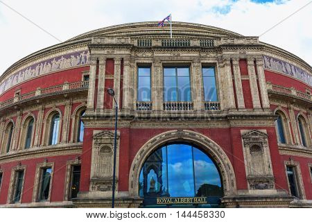 Royal Albert Hall In London, Uk