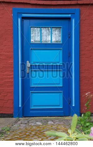 Front Door In Wustrow, Darss, Germany