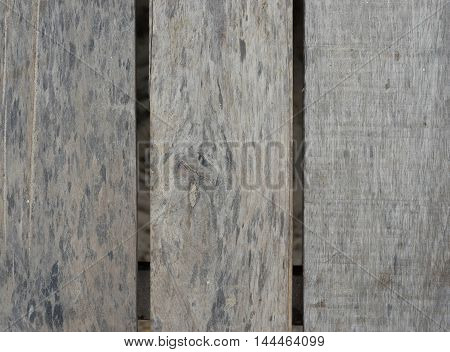 closeup of old wood boards texture pattern background