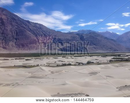 Nubra Valley, desert in Leh Ladakh India