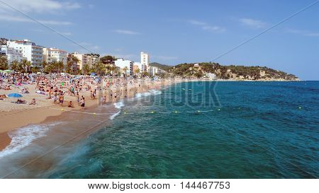 Lloret de Mar, one of the most famous travel destinations in Costa Brava