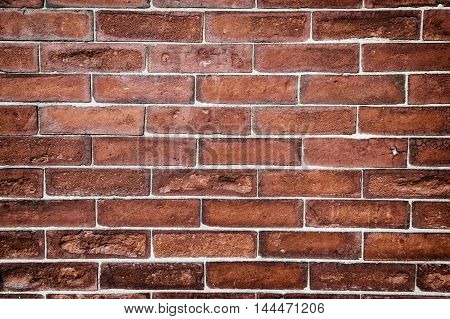 An exceptional textures on a brick wall