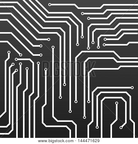 Circuit board technology background, vector illustration eps 10