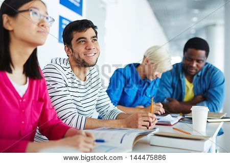 Students learning