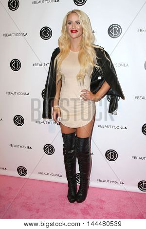 LOS ANGELES - JUN 9:  Gigi Gorgeous at the 4th Annual Beautycon Festival at the Los Angeles Convention Center on June 9, 2016 in Los Angeles, CA