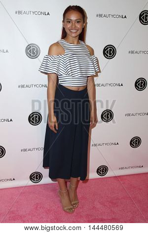 LOS ANGELES - JUN 9:  Ysa Penarejo at the 4th Annual Beautycon Festival at the Los Angeles Convention Center on June 9, 2016 in Los Angeles, CA