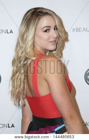 LOS ANGELES - JUN 9:  Chloe Lukasiak at the 4th Annual Beautycon Festival at the Los Angeles Convention Center on June 9, 2016 in Los Angeles, CA