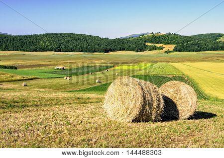 Parco di Colfiorito (Umbria) scenic landscape view