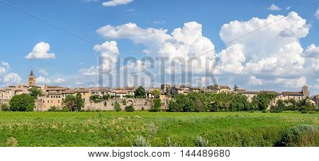 Bevagna (Umbria) high definition panoramic and landscape