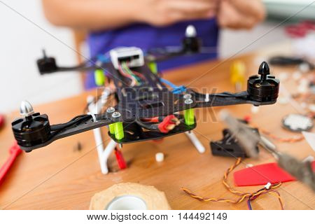 Installation of drone