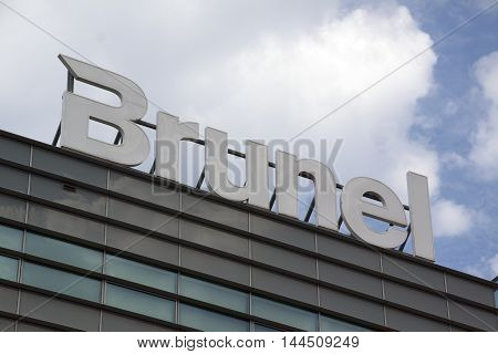 Letters Brunel On A Building