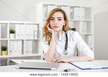 Dreamy Doctor Portrait