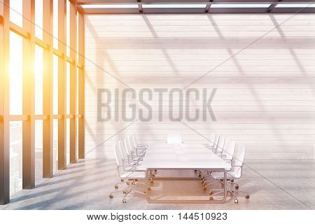 Conference Room With Panoramic Window