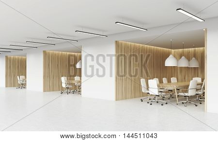 Side View Of Conference Rooms