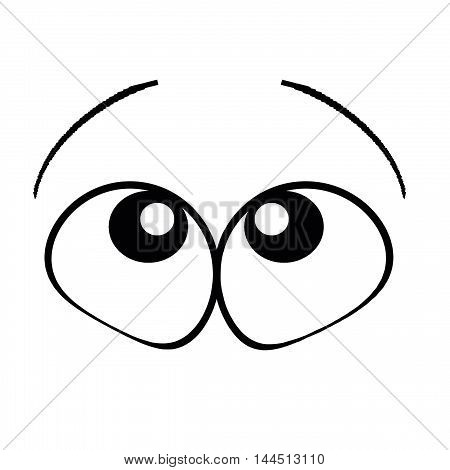 Cartoon Eyes See On The Up
