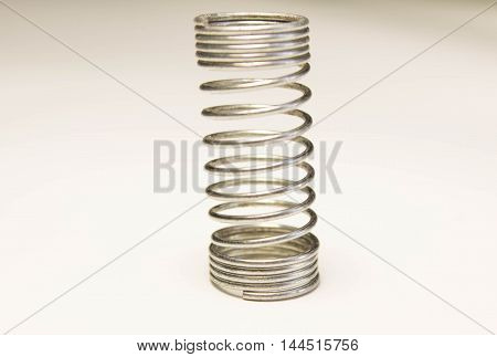 a small spring the product factory production used in electronics