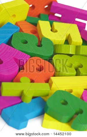 Child Toy Wooden Letters