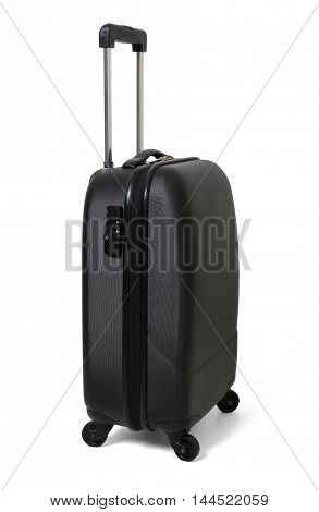 Carry On Luggage on a White Background