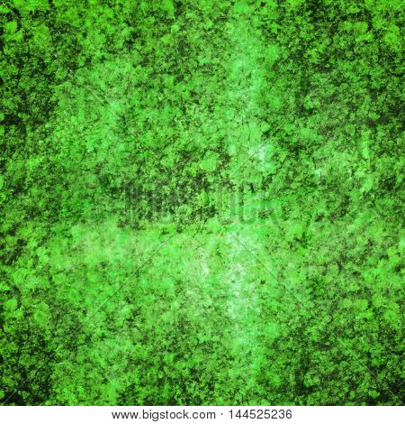 abstract colored scratched grunge background - bright green