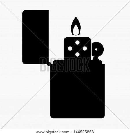 Zippo Lighter Vector