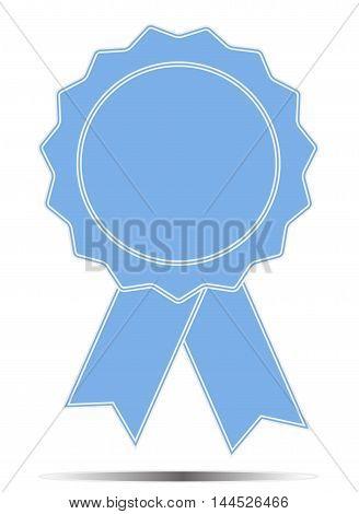 Pictograph of award icon, Award medal icon, Best guarantee symbol
