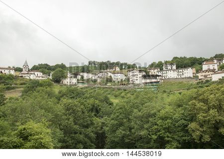 Camino de Santiago from Saint Jean Pied de Port to Roncesvalles via Valcarlos